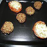 recette Boulettes de boeuf et tomates provençales à ma façon