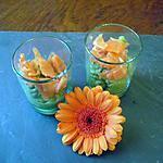 recette Verrines guacamole/saumon fumé