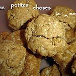 recette Sablés cacahuète/avoine