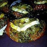 recette Tomates à la provençale au pesto et chévre