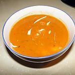 recette Soupe à la tomate et à la coriandre