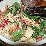 recette Salade de poulet au tahini