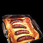 recette British: Toad in a Hole !