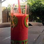 """recette smoothie fruits rouge """"baiser rouge"""" (ZUMO)"""