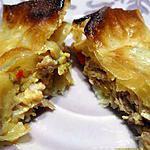 recette Samoussas poivrons-poulet-béchamel