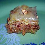 recette Baklava ou Baklawa Aux Cacahuètes Et Amande