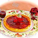 recette MOELLEUX AVEC SON COULIS DE FRAISES