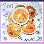recette Mini cakes chèvre-jus de carottes