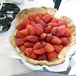 recette ma tarte aux fraises