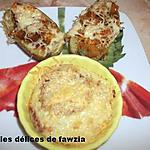 recette Pommes de terre en robe des champs (dinde et poivrons tricolores