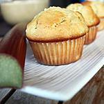 recette Muffin à la rhubarbe