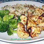 recette Lanières de poulet aux tomates confite et origan