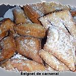 recette beignet de carnaval