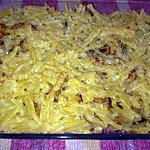 recette gratin de pâte au poulet