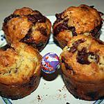 recette Muffins aux Oeufs Milka & Daim