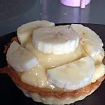 recette Tarteleette a la banane