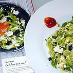 recette Brouillade de tofu aux courgettes et olives