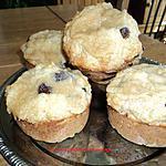 recette Muffins strudels aux bananes et chocolat