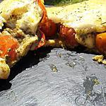recette Croque tomates mozarella et pesto