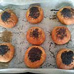 recette Les petits pains aux graines de pavot