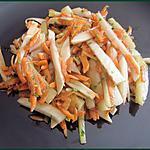 recette Salade de fenouil et carottes râpées