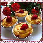 recette sabayon italien aux fraises