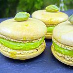 recette Macarons pistache