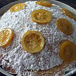 recette Délice au citron et amandes......et citron confits...