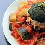 recette Courgettes farcies au saumon
