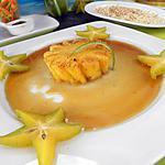 Ananas Victoria rôti au rhum charrette