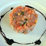 recette Tartare de thon à la papaye