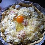 recette tarte (pomme de terre,viande haché)tomate