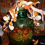 recette VIN D  ORANGE,,, orange du  jardin de ma fille