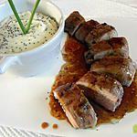 recette Filet mignon à la citronnelle et au miel de géranium