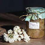 recette Confiture de fleurs d'acacia aux amandes