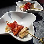Brochettes de tapas espagnoles