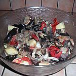 recette Salade d'aubergine à l'italienne