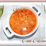 recette Soupe à la merguez