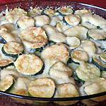 recette gratin de courgettes et viande cannelle-muscade