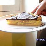 recette Tarte fondante au poire chocolat