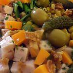 recette Salade multicolore... rafraîchissante  à la Kapiluka....