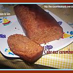 recette cake au carambars
