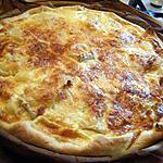 recette tarte au camenbert (coulommier) et lardons
