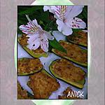 recette Courgettes au thon , Philadelphia et Curry