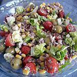 """recette Salade à la mode """"MARIE"""""""