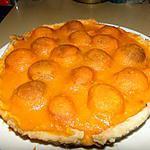 recette Tarte aux abricots et aux amandes