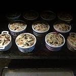 recette Flan aux courgettes , lardons et oignons