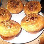 recette Muffins aux Noix de Pécan, facile à réaliser !