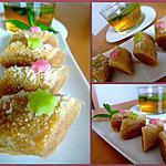 recette M'hancha (pâtisserie marocaine)