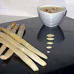 recette Asperges blanches à la sauce aérienne marocaine